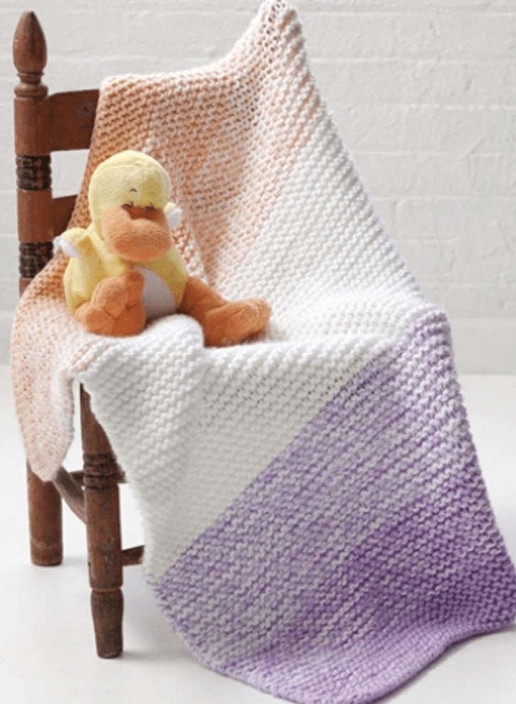 Soft 'n Simple Baby Blanket da lovecrafts.com