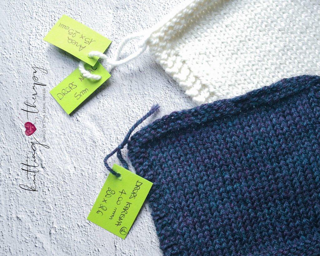 Campioni etichettati e catalogati