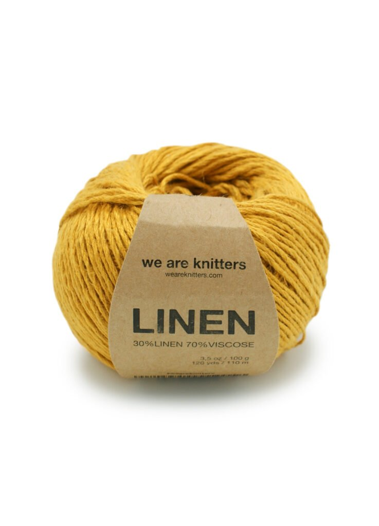 We are knitters Linen