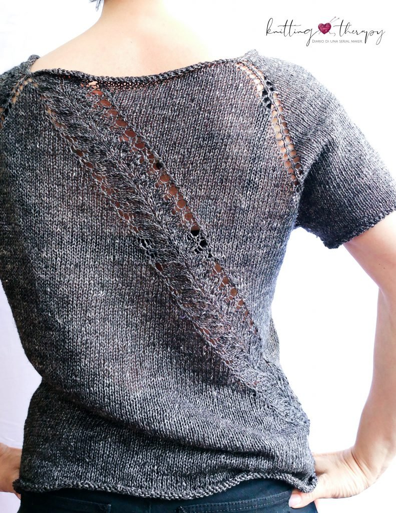 Piuma shirt by Meret Buetzberger - la mia versione
